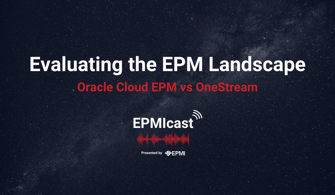 Evaluating the EPM Landscape